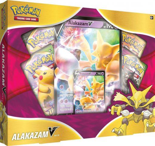 Pokemon Sword and Shield Alakazam V Box