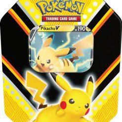 Pokemon Fall Tin Pikachu V