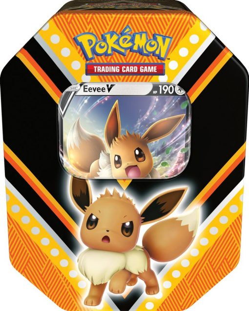 Pokemon Fall Tin Eevee V