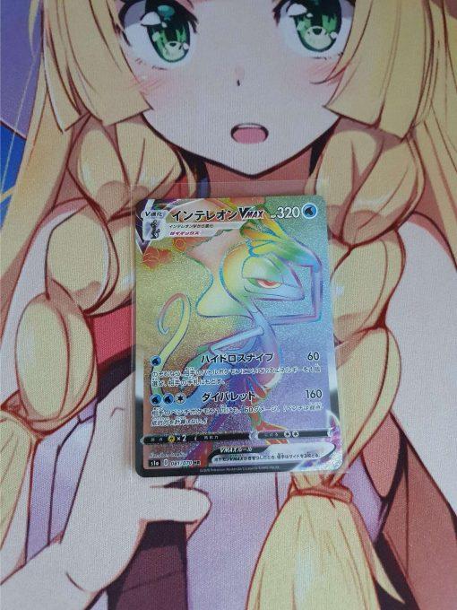 Pokemon Kaart Sword & Shield VMAX Rising Inteleon VMAX 081/070