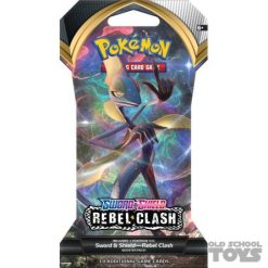 Pokemon Sword and Shield Rebel Clash Sleeved Booster