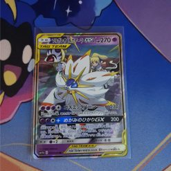 Pokemon Kaart Sun and Moon Dream League sm11b Solgaleo and Lunala GX 020/049