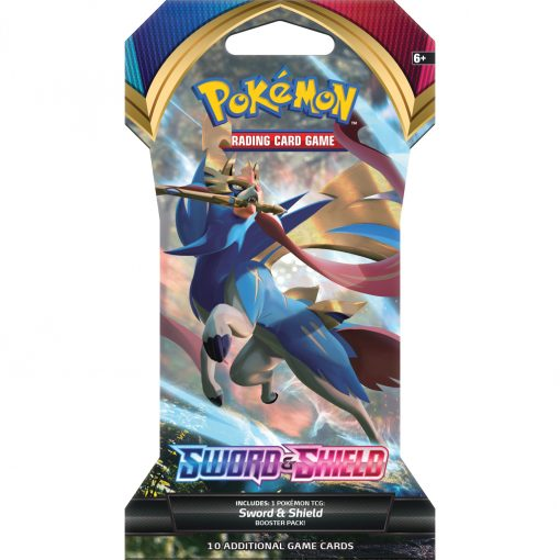Pokemon Sword and Shield Base Set Sleeved Booster