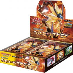 Pokémon Sun and Moon SM5s Ultra Sun Booster Box Japans