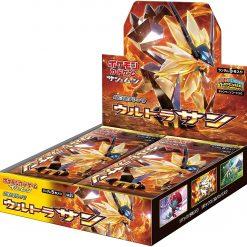 Pokémon Sun and Moon SM5s Ultra Sun Booster Box Japans