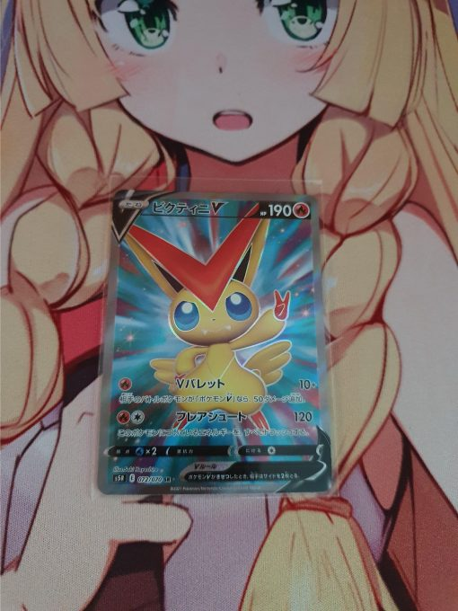 Pokemon Kaart Victini Secret Rare 072/070 Rapid Strike Master