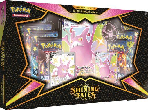 Pokemon Shining Fates Crobat premium collection