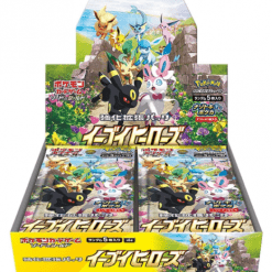 Pokemon Sword and Shield Eevee Heroes Booster Box Japans