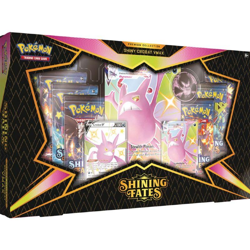 Shining Fates Premium Collection VMAX Boxen onderweg!