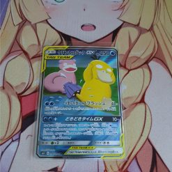 Pokemon Kaart Slowpoke en Psyduck GX 096/094 Secret Rare Miracle Twin Japans