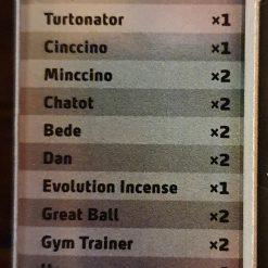 Victini V card list