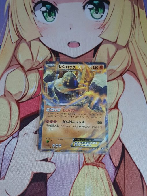 Pokemon Kaart Regirock EX 011/048 XY Japans