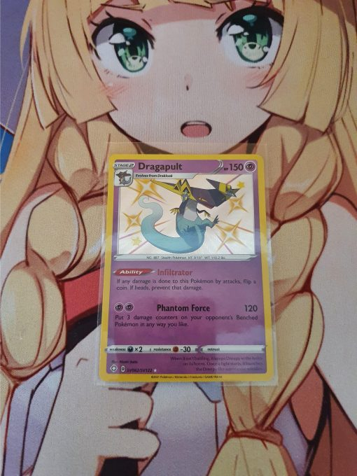 Pokemon Kaart Sword and Shield Shining Fates Dragapult SV062/122