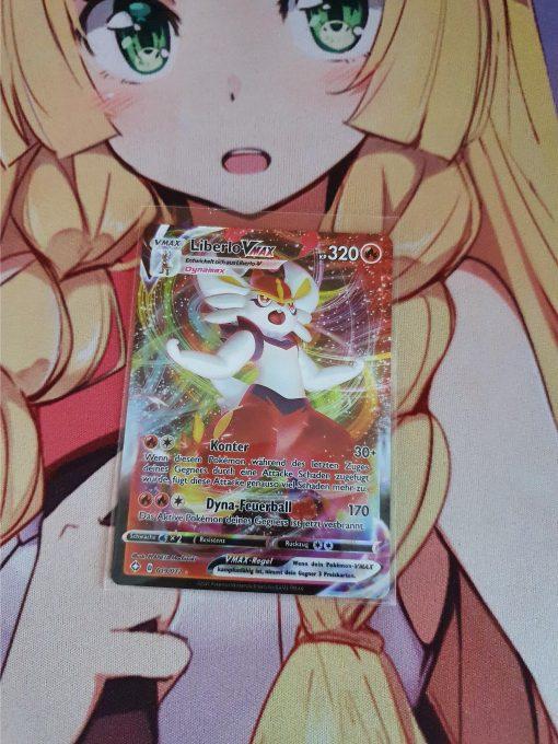 Pokemon Kaart Shining Fates 019/072 Cinderace VMAX Duits