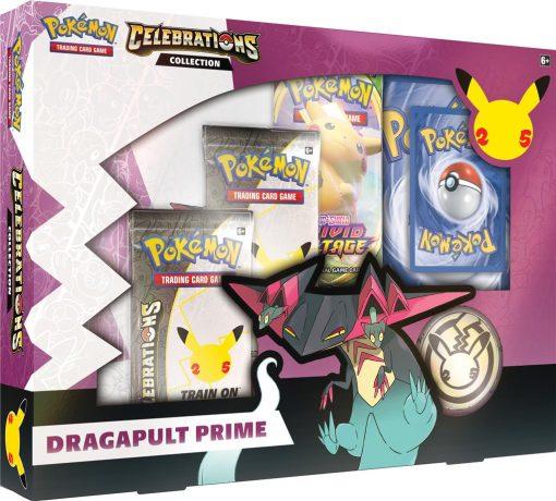 Pokemon Celebrations Collection Box Dragapult Prime 1