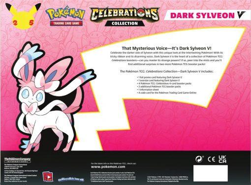 Pokemon Celebrations Collection Dark Sylveon V 3
