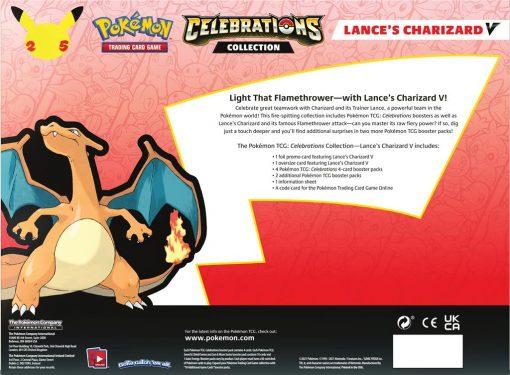 Pokemon Celebrations Collection Lance's Charizard V 3