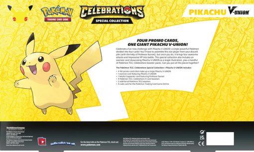 Pokemon Celebrations Pikachu V-Union Special Collection 3