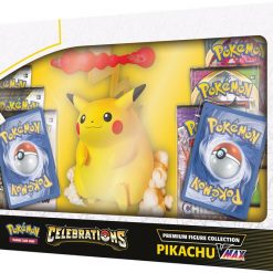 Pokemon Celebrations Pikachu VMAX Figure Collection 4