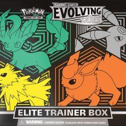 Pokemon Evolving Skies Elite Trainer Box Leafeon, Umbreon, Jolteon, Flareon 1