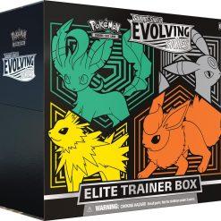 Pokemon Evolving Skies Elite Trainer Box Leafeon, Umbreon, Jolteon, Flareon