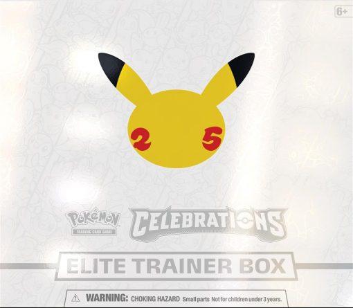 Pokmeon Celebrations Elite Trainer Box 2