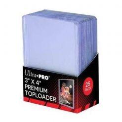 Ultra Pro Toploader Clear Premium