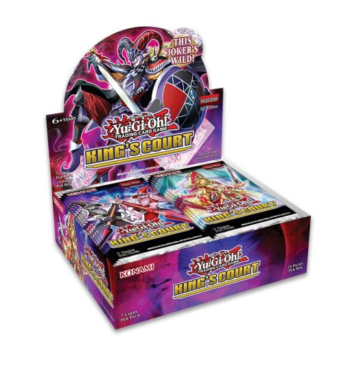 Yu-Gi-Oh! King's Court boosterbox 1