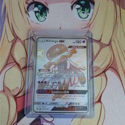 Pokemon Kaart Nihilego GX SV62/SV94 Hidden Fates Shiny Vault