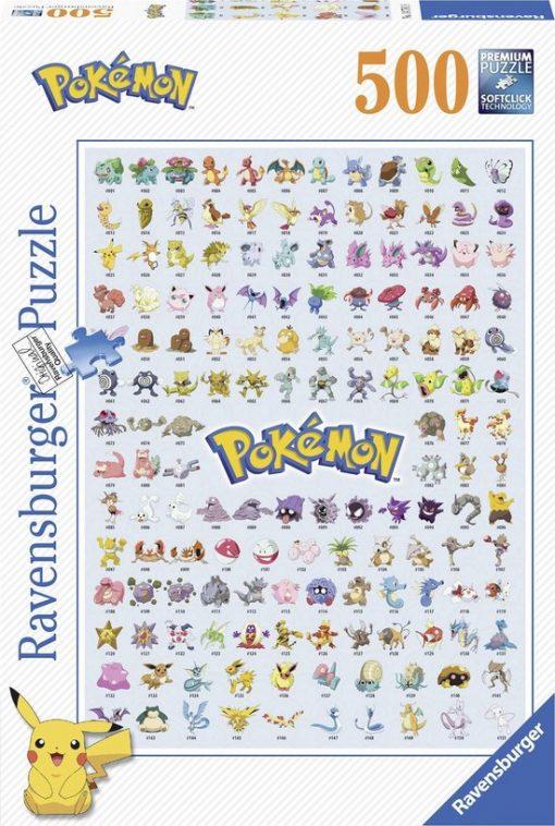 Pokémon Puzzel 500 Stukjes (Ravensburger)