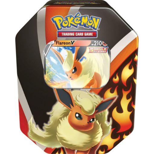 Pokemon Kaarten Flareon V Fall Tin