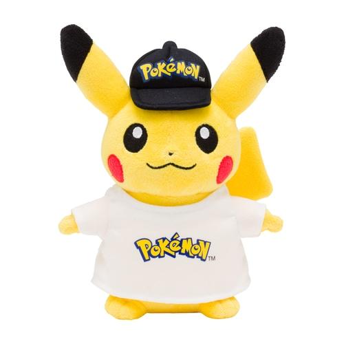 Pokemon Center Japan: Pluche Pokémon Logo Pikachu knuffel