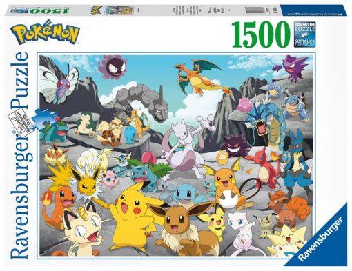 Pokemon Puzzel 1500 Stukjes (Ravensburger)